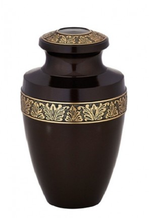 Sudbury Brass Metal Cremation Urn