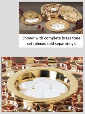 Sudbury Brass Polished Brass Tone Bread Plate Insert