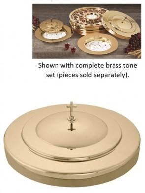 Sudbury Brass Polished Brass Tone Communion Tray Cover