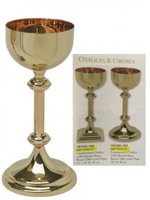 Sudbury Brass Ceremonial Chalice With Round Base