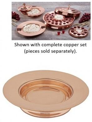 Sudbury Brass Copper Stacking Bread Plate