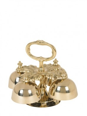 Sudbury Brass Hand-Held Bell Set With Four Bells