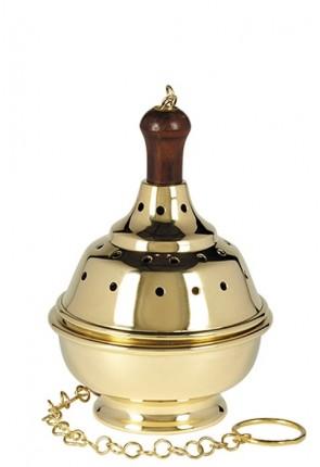 Sudbury Brass Single-Chain, Medium-Sized Censer