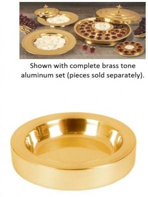 Sudbury Brass Polished Brass Tone Aluminum Bread Plate Insert