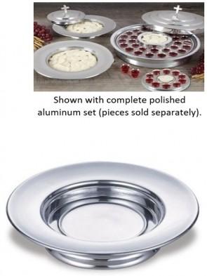 Sudbury Brass Polished Aluminum Stacking Bread Plate