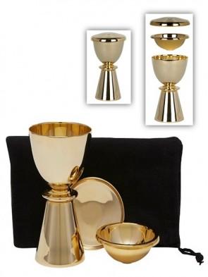 Sudbury Brass Communion Travel Set