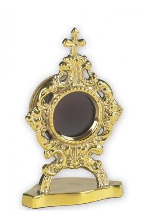 Sudbury Brass Round Personal Reliquary