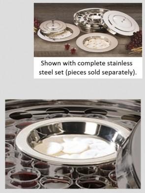 Sudbury Brass Stainless Steel Bread Plate Insert