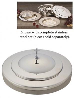Sudbury Brass Stainless Steel Communion Tray Cover