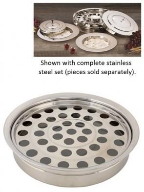 Sudbury Brass Stainless Steel Stacking Communion Tray