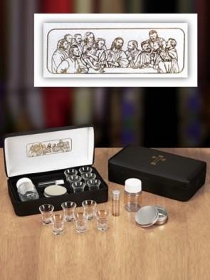 Sudbury Brass The Last Supper Portable Communion Set