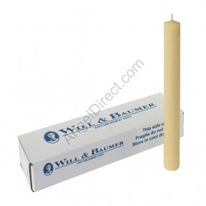 Will & Baumer Purissima-Brand 100% Beeswax Altar Candles