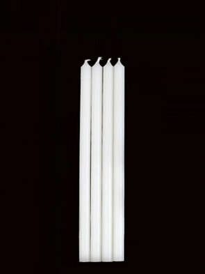 "Will & Baumer 8-7/8""H Parishioner Candles - Box Of 12"
