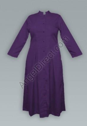 Abbey Brand Fitted, Purple Women's Cassock