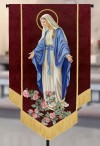 "Celebration Banners Sacred Image Series ""Our Lady Of Grace"" 3-1/2'W X 5'H Worship Banner"