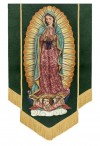 """Celebration Banners Sacred Image Series """"Our Lady Of Guadalupe"""" 3-1/2'W X 5'H Worship Banner"""