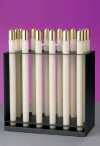 """Lux Mundi Candle Rack For 1"""" Diameter Refillable Candles"""
