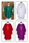 R.J. Toomey Eucharistic Collection Set Of Four Chasubles With Inner Stoles