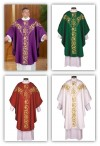 R.J. Toomey Roma Collection Set Of Four Chasubles With Inner Stoles