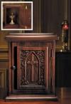 """Robert Smith 20""""H IHS Hardwood Tabernacle"""