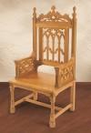 "Robert Smith Canterbury Collection 48""H Celebrant Chair"