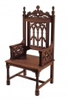 "Robert Smith Canterbury Collection 48""H Celebrant Chair"