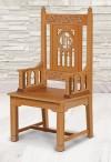 "Robert Smith Florentine Collection 48""H Celebrant Chair"