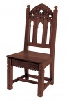 """Robert Smith Gothic Collection 42""""H Side Chair"""